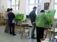 Rysunek i malarstwo - autor zdjęcia E. Z-P.
